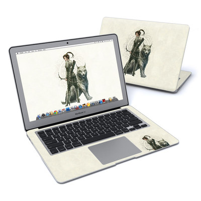 MacBook Air 13in Skin - Half Elf Girl