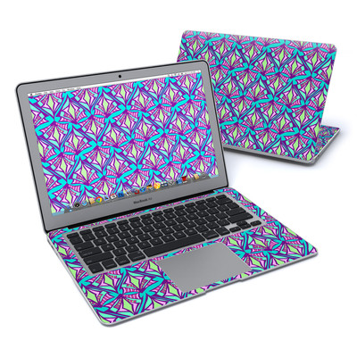 MacBook Air 13in Skin - Fly Away Teal