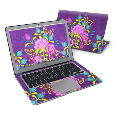 MacBook Air 13in Skin - Floral Bouquet