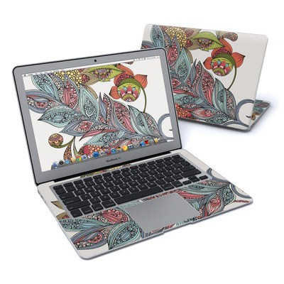 MacBook Air 13in Skin - Feather Flower