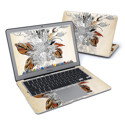 MacBook Air 13in Skin - Fall Floral