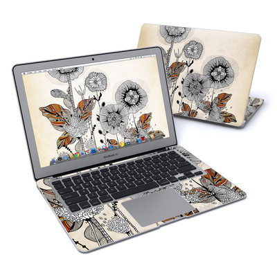MacBook Air 13in Skin - Four Flowers