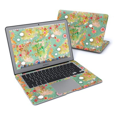 MacBook Air 13in Skin - Feathers Flowers Showers