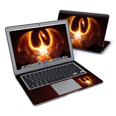MacBook Air 13in Skin - Fire Dragon