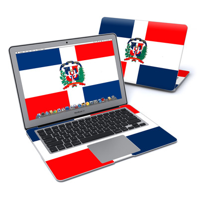 MacBook Air 13in Skin - Dominican Republic Flag
