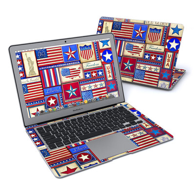MacBook Air 13in Skin - Flag Patchwork