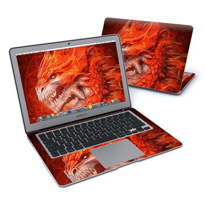 MacBook Air 13in Skin - Flame Dragon