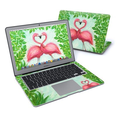 MacBook Air 13in Skin - Flamingo Love