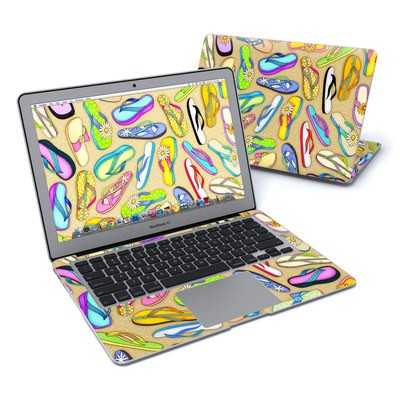 MacBook Air 13in Skin - Flip Flops