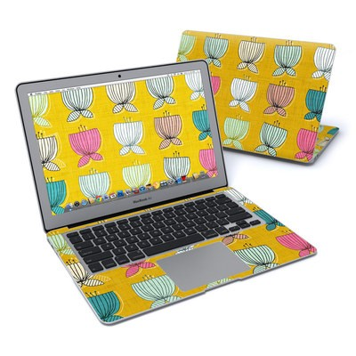 MacBook Air 13in Skin - Flower Cups