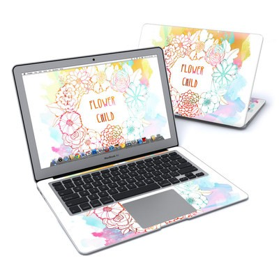 MacBook Air 13in Skin - Flower Child