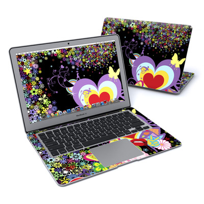 MacBook Air 13in Skin - Flower Cloud
