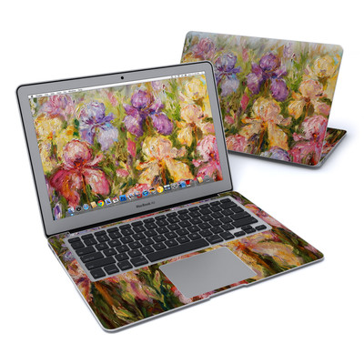 MacBook Air 13in Skin - Field Of Irises
