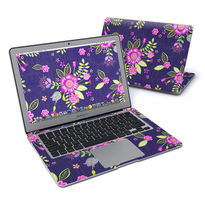 MacBook Air 13in Skin - Folk Floral