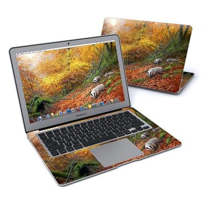 MacBook Air 13in Skin - Forest Gold