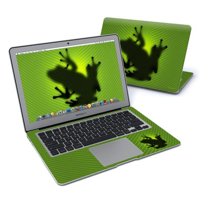MacBook Air 13in Skin - Frog
