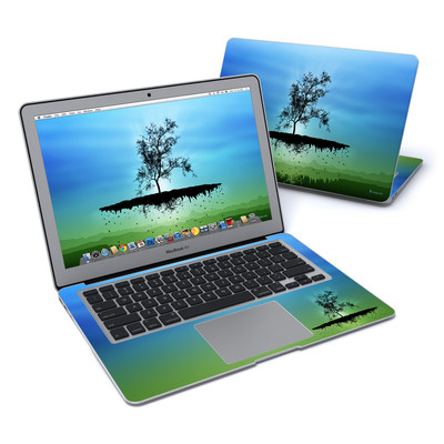 MacBook Air 13in Skin - Flying Tree Blue