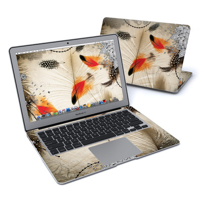 MacBook Air 13in Skin - Feather Dance