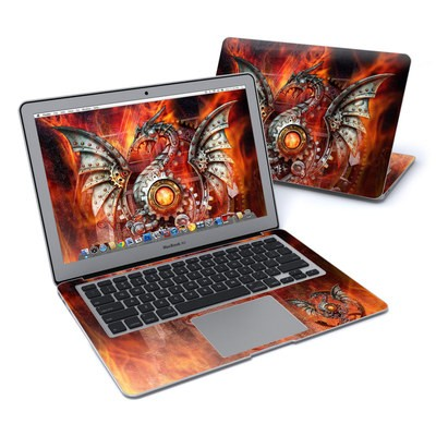 MacBook Air 13in Skin - Furnace Dragon