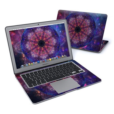 MacBook Air 13in Skin - Galactic Mandala