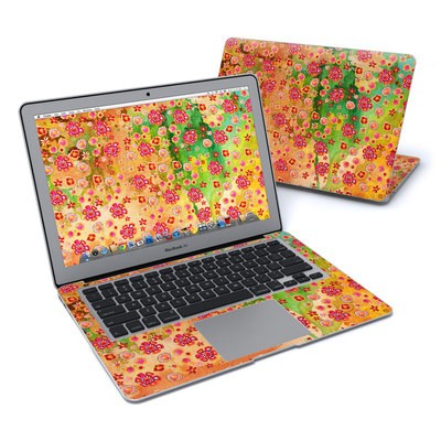 MacBook Air 13in Skin - Garden Flowers