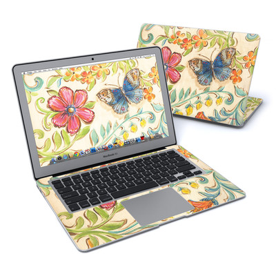 MacBook Air 13in Skin - Garden Scroll