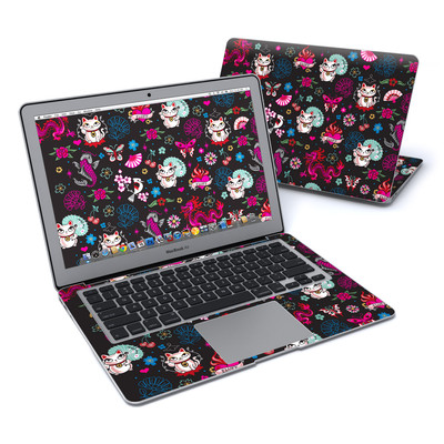 MacBook Air 13in Skin - Geisha Kitty