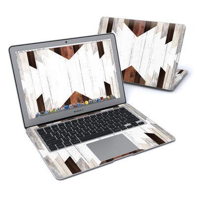 MacBook Air 13in Skin - Geo Wood
