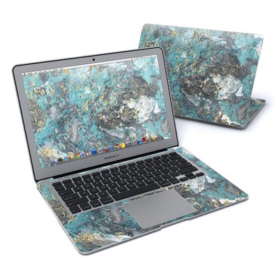 MacBook Air 13in Skin - Gilded Glacier Marble