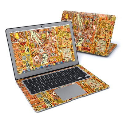 MacBook Air 13in Skin - The Golding Time