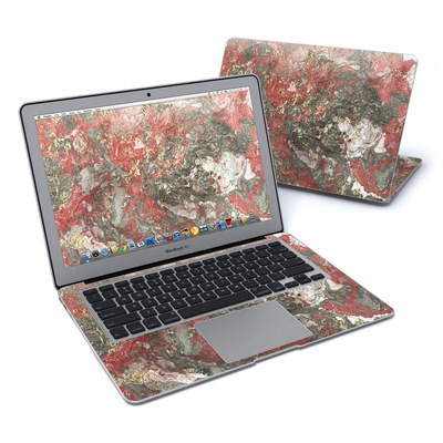 MacBook Air 13in Skin - Gilded Magma Marble