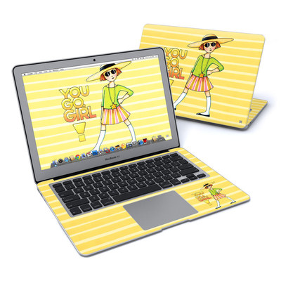 MacBook Air 13in Skin - You Go Girl