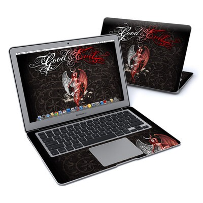 MacBook Air 13in Skin - Good and Evil