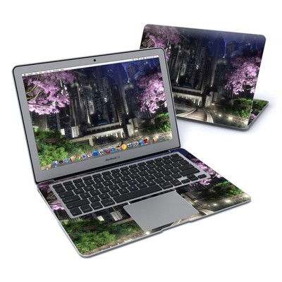 MacBook Air 13in Skin - Gotham Garden