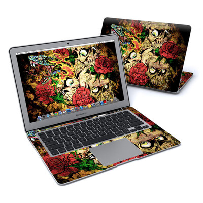 MacBook Air 13in Skin - Gothic Tattoo