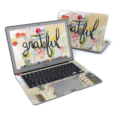 MacBook Air 13in Skin - Grateful