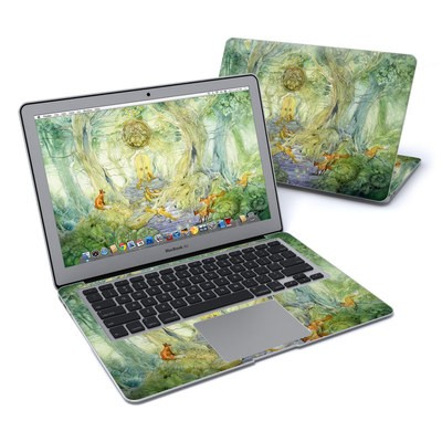 MacBook Air 13in Skin - Green Gate