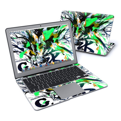 MacBook Air 13in Skin - Green 1