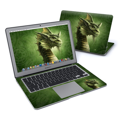 MacBook Air 13in Skin - Green Dragon