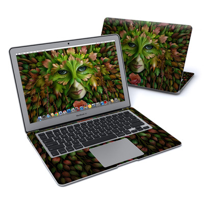 MacBook Air 13in Skin - Green Woman