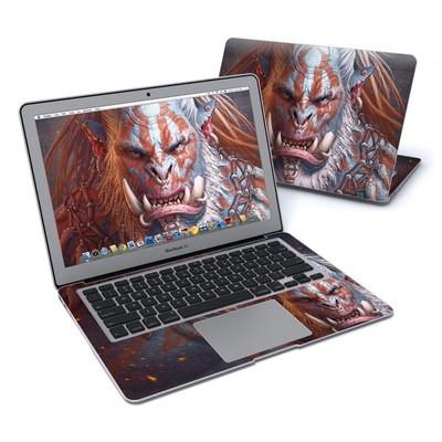 MacBook Air 13in Skin - Gruddur Orangefist