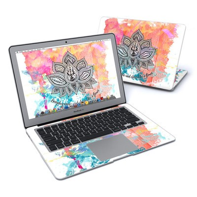 MacBook Air 13in Skin - Happy Lotus