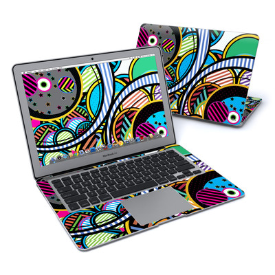MacBook Air 13in Skin - Hula Hoops