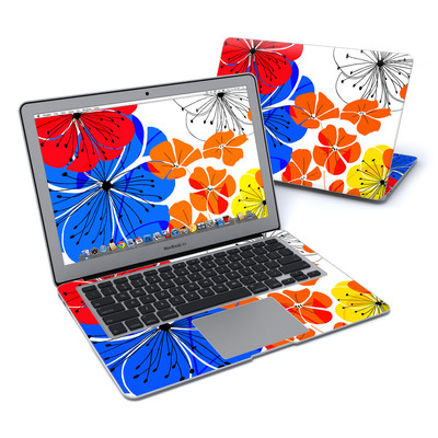 MacBook Air 13in Skin - Hibiscus Dance