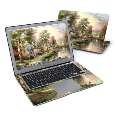 MacBook Air 13in Skin - Hometown Lake