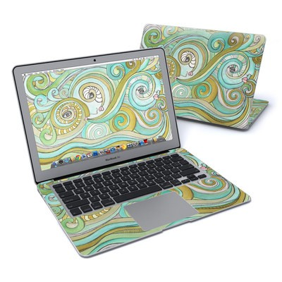 MacBook Air 13in Skin - Honeydew Ocean