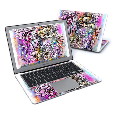 MacBook Air 13in Skin - Hot House Flowers