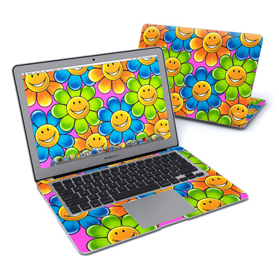 MacBook Air 13in Skin - Happy Daisies