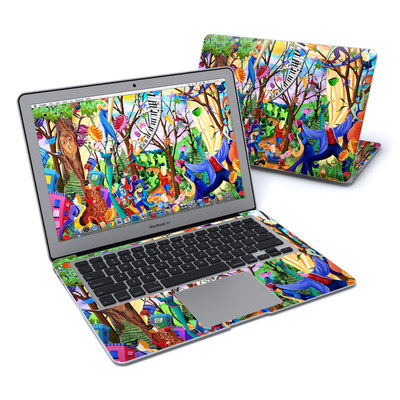 MacBook Air 13in Skin - Happy Town Celebration