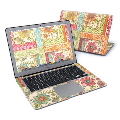 MacBook Air 13in Skin - Ikat Floral